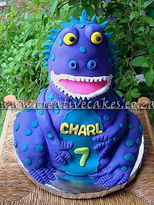 Dinosaur Birthday Cake This 3d dinosaur cakes is very popular for