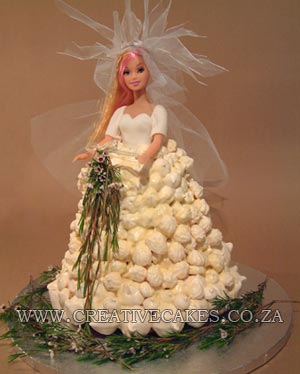 bride barbie cake
