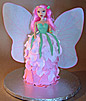 3d fairy cake step by step