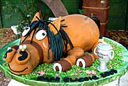 kids birthday cakes - horse cake