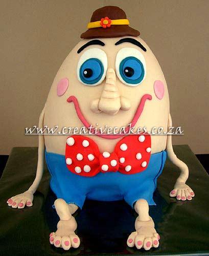 Childrens Birthday Cake Book Humpty