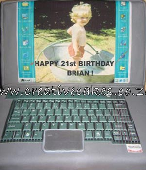 Cake Laptop Designs : Laptop Cake Design - Laptop Cake