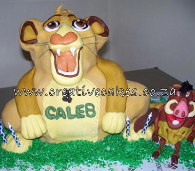 Lion King Cake Design