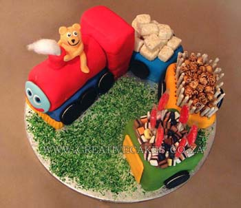 Train Cake Design